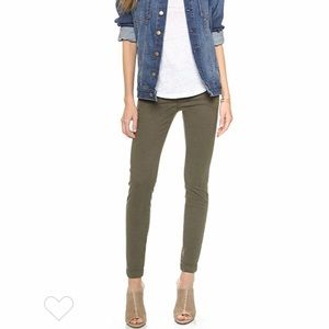 *JOIE* Fatigue Trouser Skinny Olive Jeans